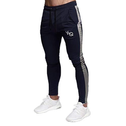 (R-Hansets Casual Joggers Sweatpants Gyms Bodybuilding Pencil Cotton Elasticity Jogger 2 M)