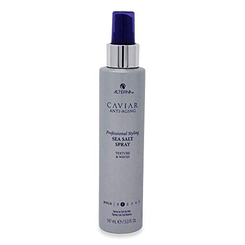 CAVIAR Anti-Aging Professional Styling Sea Salt Texturizing Spray, 5-Ounce (Alterna Caviar Anti Aging Beach)