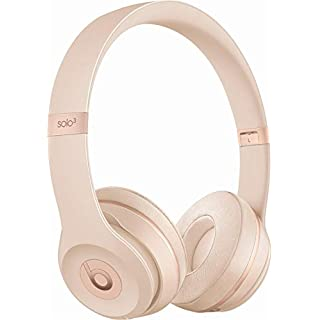 Beats Solo 3 Wireless On-Ear Headphones - Matte Gold (Renewed)