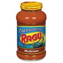 (Ragu Old World Style Mushroom Spaghetti Sauce, 26 Ounce (Pack of 12))