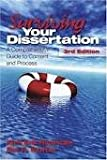 img - for Surviving Your Dissertation: A Comprehensive Guide to Content and Process 3th (third) Edition book / textbook / text book