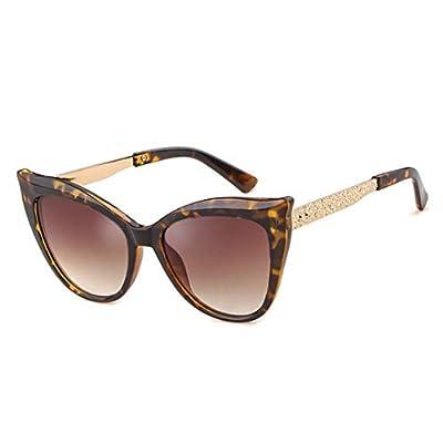 NEW Fashion Retro Cat Eye Leopard Sunglasses Women Designer Vintage Lady Sun Glasses OM809