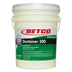 Betco Symplicity Destainer 300 Laundry Bleach -5 Gal.