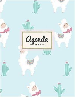 Agenda 2019: Semanal Diario Organizador Calendario | Linda ...