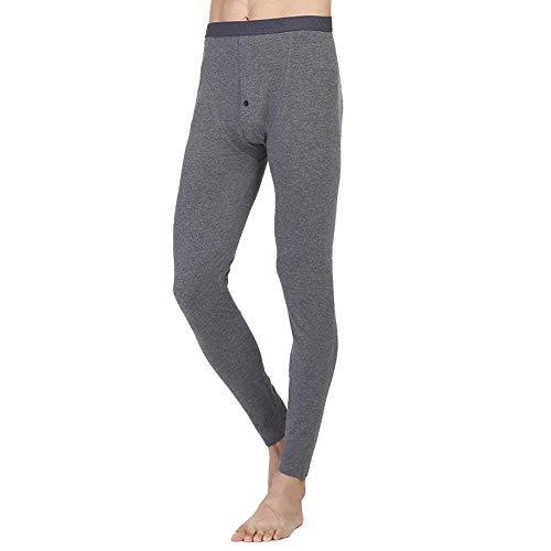 Otoño Primavera Térmica Leggings Los Ropa Battercake Acogedora De Térmicos Cómodo Hombres Dunkelgrau Pantalones Moda Interior Sólido Color nxfIAq8