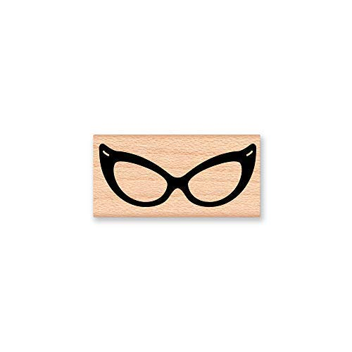 bawansign Wood Plaque Decor Cat Eye Glasses Hipster Nerd Glassesreading Glasses Hand Painted Wall Hanging Wooden Sign