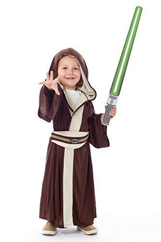 Amazon.com  Little Adventures Galactic Warrior Hooded Robe with Belt - Size  Small Age 1-3  Toys   Games e051716e6