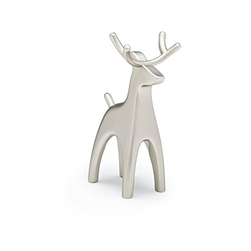 Umbra Anigram Ring Holder, Reindeer, Nickel by Umbra