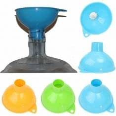 Plastic Large Wide Mouth Canning Funnel Wine Oil Filling Funnel Kitchen