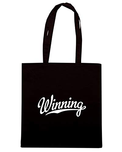 Speed Shirt Borsa Shopper Nera FUN0979 CHARLIE SHEEN WINNING BASEBALL