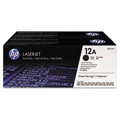 HP 12A Original Toner Cartridge - Dual - Hp Toner Q2612a