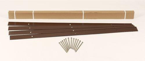 Dimex EasyFlex Aluminum Landscape Edging Project Kit, Will Not Rust Like Steel, Brown (Edging Kit)