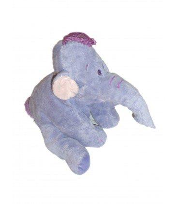 Peluche de elefante Lumpy, color malva, de Disney Nicotoy, 23 cm de altura