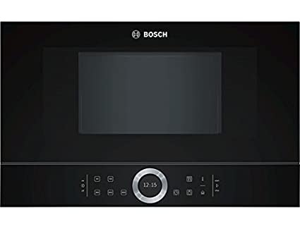 Bosch BFL634GB1 - Microondas (Integrado, 21 L, 900 W, Tocar, Negro, Abajo)