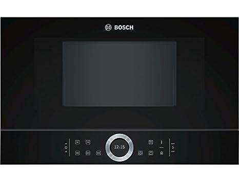 Bosch BFL634GB1 - Microondas (Integrado, 21 L, 900 W, Tocar, Negro ...