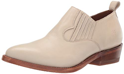 FRYE Women's Billy Shootie Ankle Boot Off White 6.5 M US from FRYE