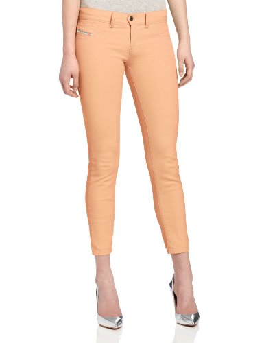 Diesel Women's Livier Super-Slim Legging Jean 0661V, Peach, 27 ()