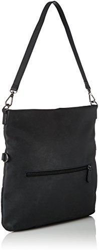 s.Oliver (Bags) 39.710.94.6002 - Borse a secchiello Donna, Schwarz (Black/schwarz), 3x33x32 cm (B x H T)