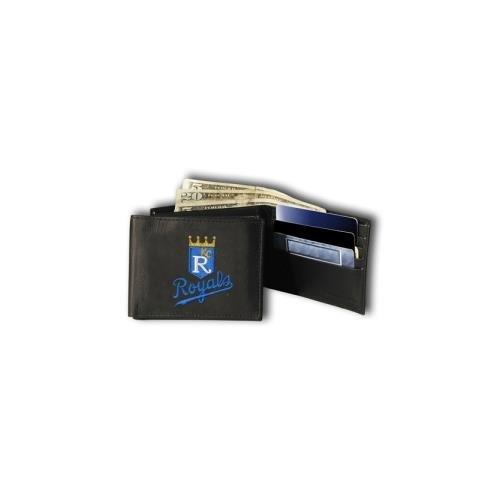 Rico Industries RIC-RBL4402 Kansas City Royals MLB Embroidered Billfold Wallet