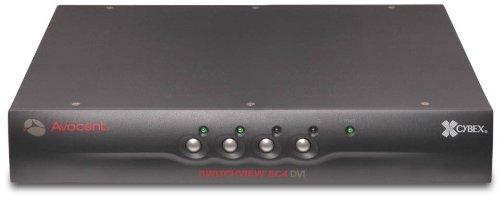 Switchview SC4 Dvi KVM Switch Niap Cert. PS2 Single Dvi-i Su
