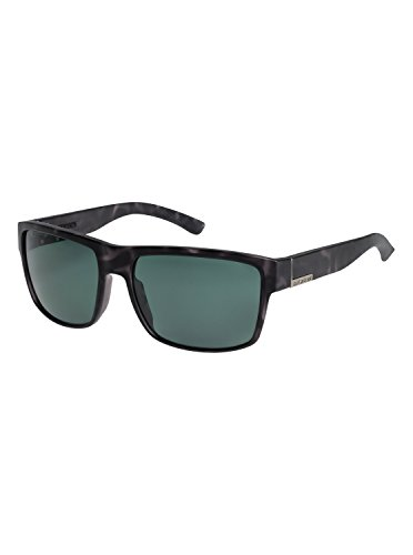 Quiksilver Mens Ridgemont Polarised - Sunglasses Sunglasses Black One - Mens Sunglasses Polarised