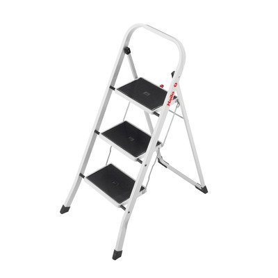 K20 3-Step Steel Step Stool with 330 lb. Load Capacity by Hailo USA Inc. by Hailo USA Inc.