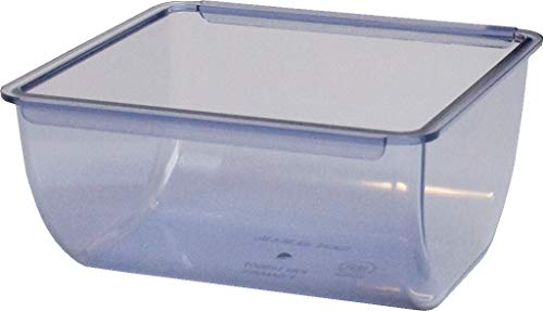 San Jamar BD106 1qt Dome and Mini Dome Standard Chillable Tray (Pack of 6)
