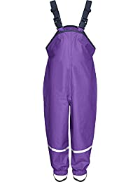 Playshoes Unisex Baby and Kids' Rain Pants 2-3 Years Purple