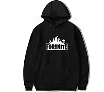 fortnite Europe and America Black Fashion Hoodie-S