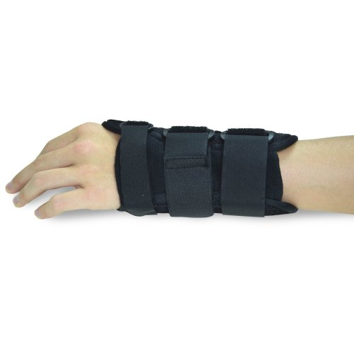 Wrist Brace Single, One (1), Carpal Tunnel, (Right | Small/Medium), Wrist Support, Forearm Splint Band, 3 Straps Adjustable, Breathable for Sports, Sprains, Arthritis and Tendinitis