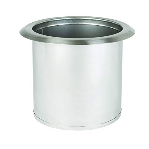 Dispense-Rite TCD-2-NB Drop-In Trash Chute, Small (Steel Chute)