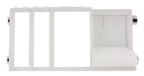Leviton 47612-VSB Shelf Bracket for Structured Media Cabinet - Leviton Structured Media Center Video
