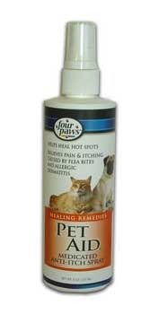 Best Quality Pet Aid Anti-Itch Spray / Size 8 Ounces By Four Paws