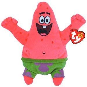 TY Beanie Baby Spongebob Squarepants - Patrick Star