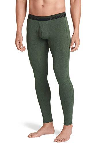 Jockey Men's Long Underwear Thermocore Pant, Forest Heather, - Jockey Thermal