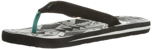 Billabong Together Sandals - Chanclas Mujer Negro (Schwarz (BLACK 19))