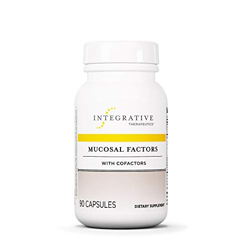 Integrative Therapeutics - Mucosal Factors with Cofactors - Supports Healthy Intestinal Balance - 90 Capsules