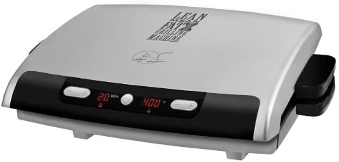 George Foreman 6-Serving Removable Plate Grill and Panini Press ...