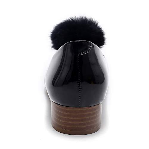 Compensées Femme EU 36 DGU00776 5 AN Noir Noir Sandales tEx8wBxqfF