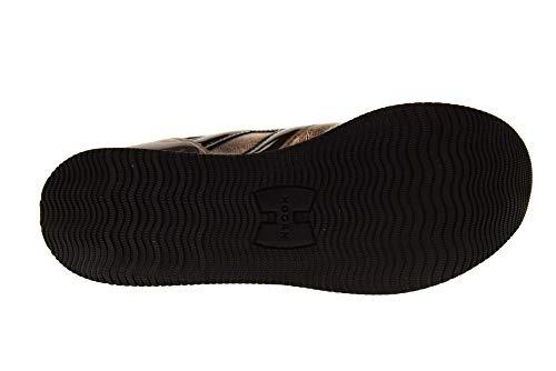 Plateforme Basses Baskets Femme HXW2830T548JD81805 Chaussures avec Or Noir H283 Hogan xRqXtnwT5