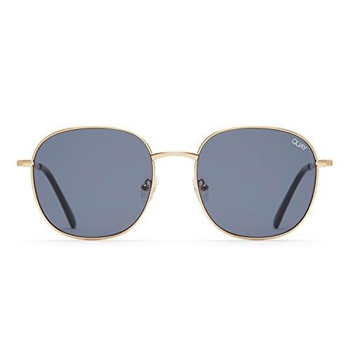 Quay Australia JEZABELL Women's Sunglasses Minimal Round Sunnies - - Sunglasses Minimal