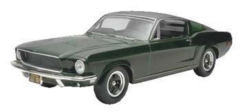 Bullitt Models (Revell 1:25 Bullitt '68 Mustang GT)