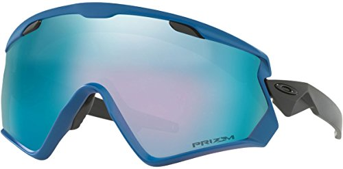 Oakley Snow Jacket (Oakley Wind jacket 2.0 Snow Goggles, California Blue, Medium)