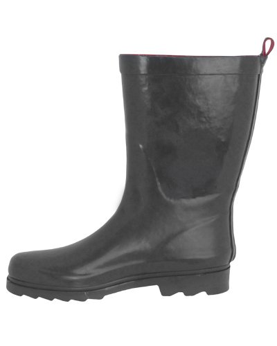 Capelli Short Shiny Rain Ladies Rubber New York Grey Boot rUqZwCrgIn