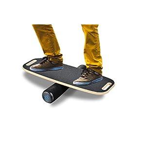 Bona Balance Board Trainer with Handle – Bongo Balance Training for Surf, Skateboard, Hockey for Home Gym