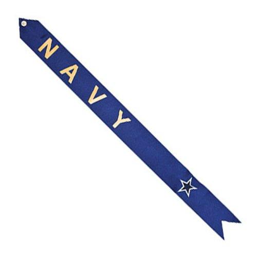 Service Pride Navy Flag Streamer, Blue Star LS032620
