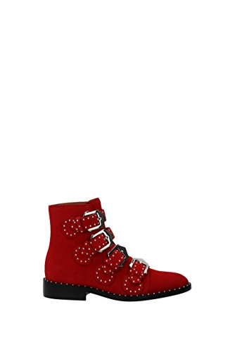 Givenchy Ankle Boots Women - Suede (BE08143124) UK Red sale hot sale IPtoj2x