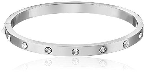 spade Stone Hinged Bangle Bracelet product image