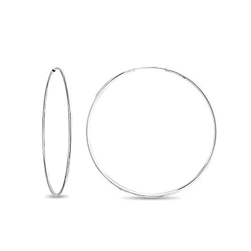 Sterling Earrings Flexible Hypoallergenic Silver