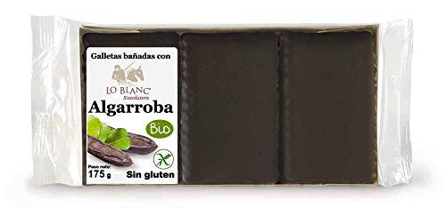GALLETAS LOBLANC BAÑADAS CON ALGARROBA - 175 g, sin gluten ...